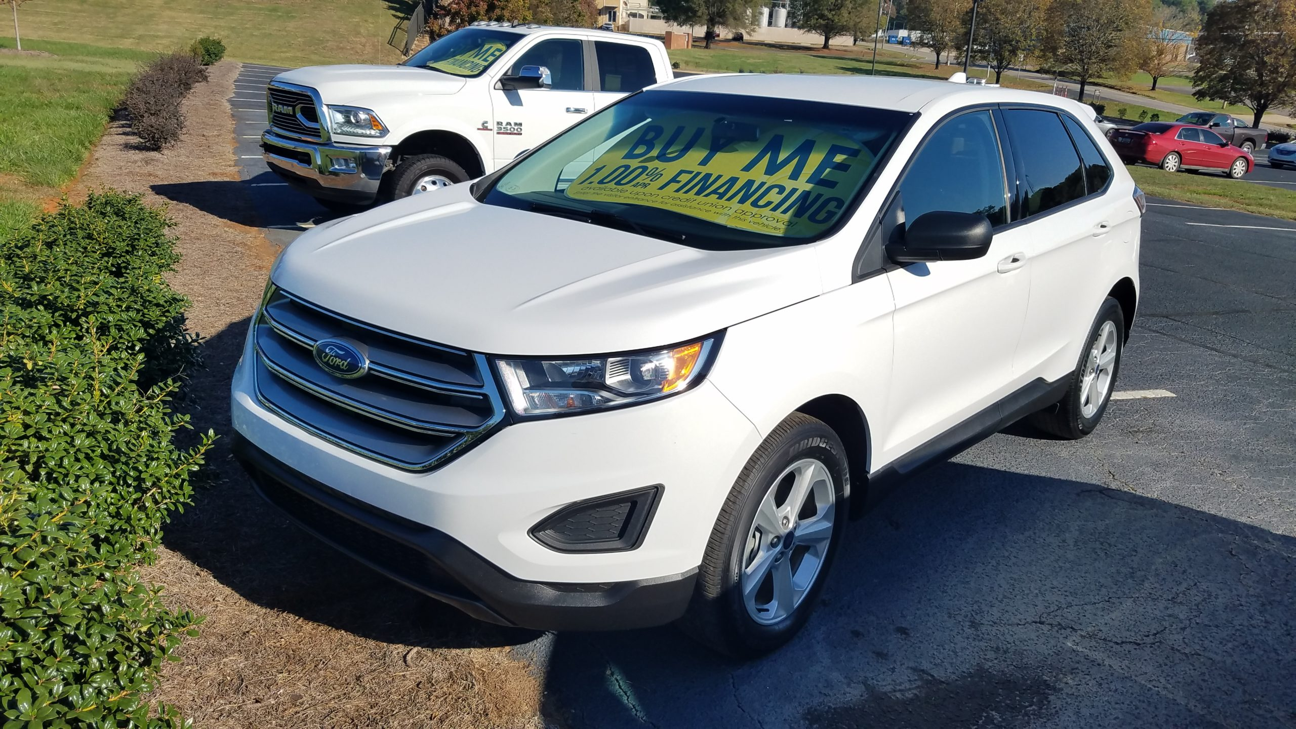 2017 Ford Edge SE EcoBoost