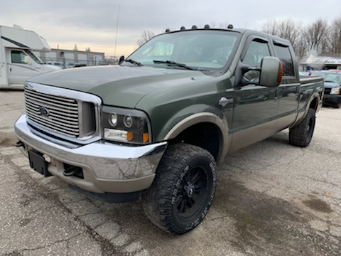 2004 FORD F-250 KING RANCH