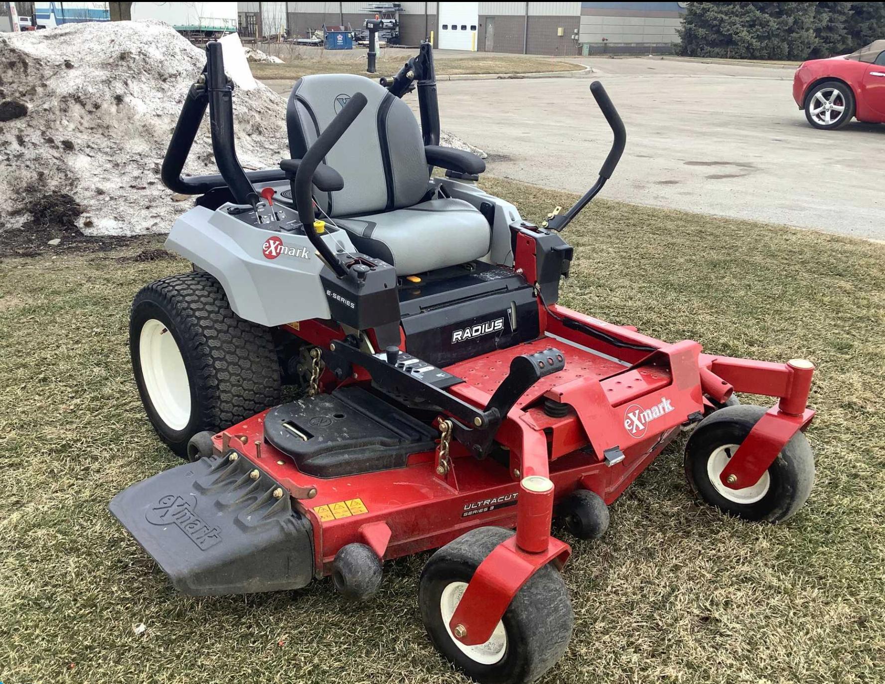 Exmark 2018 Zero Turn Lawn Mower