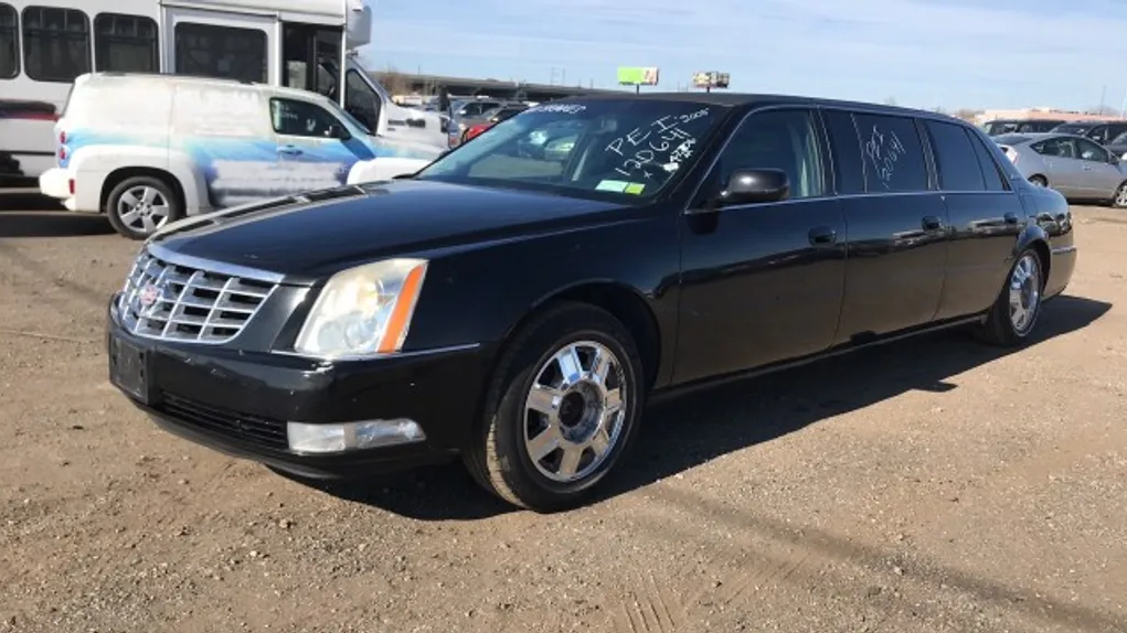 2008 Cadillac Professional Chassis Limosine