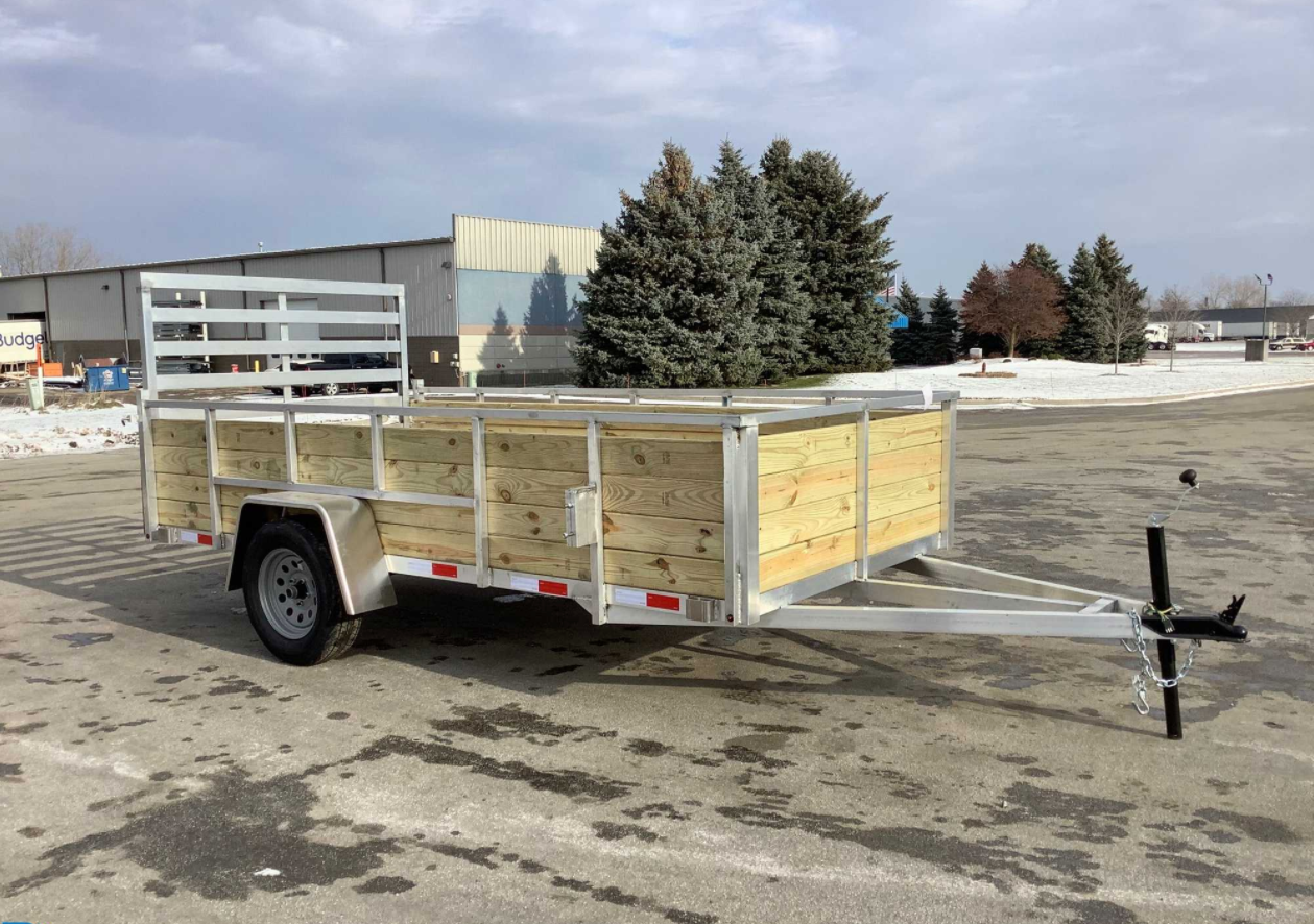 2020 MMT UTILITY Single Axle Utility Trailer