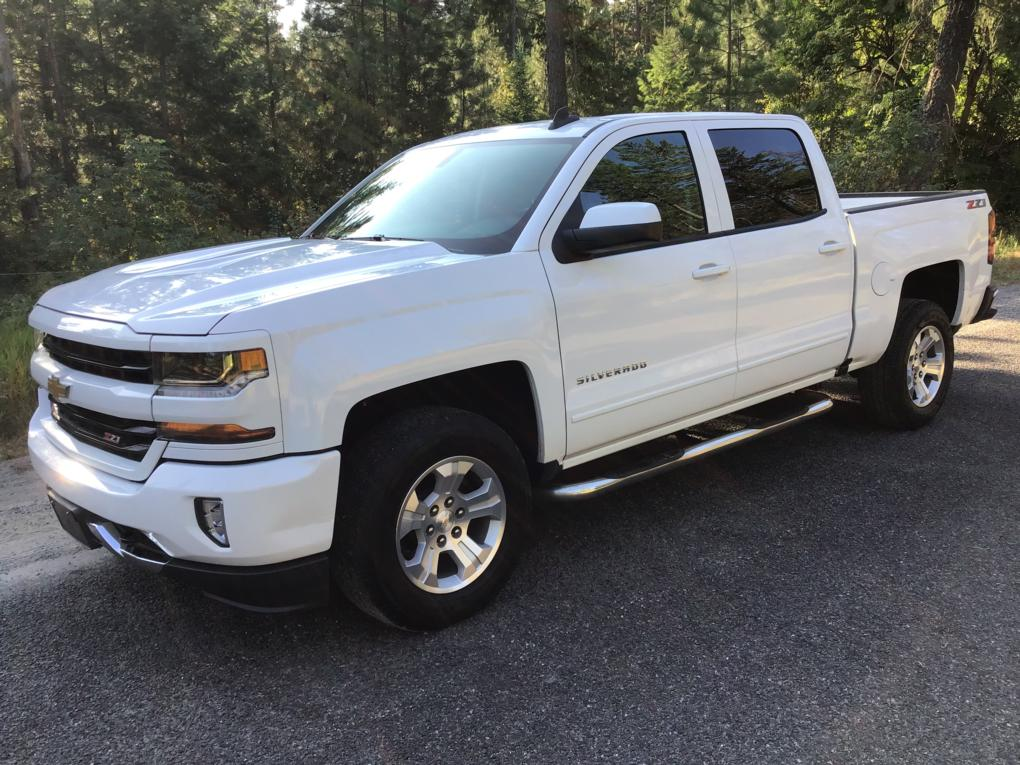 2018 CHEVROLET SILVERADO 1500 LT CREW CAB LONG BOX 4WD