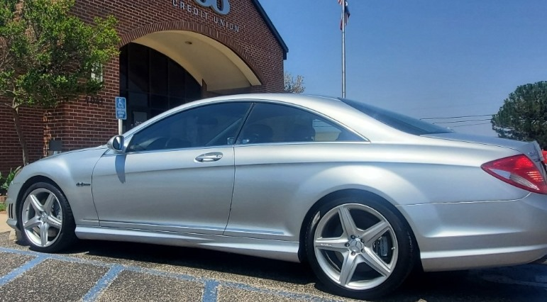 2008 MERCEDES CL63 AMG COUPE