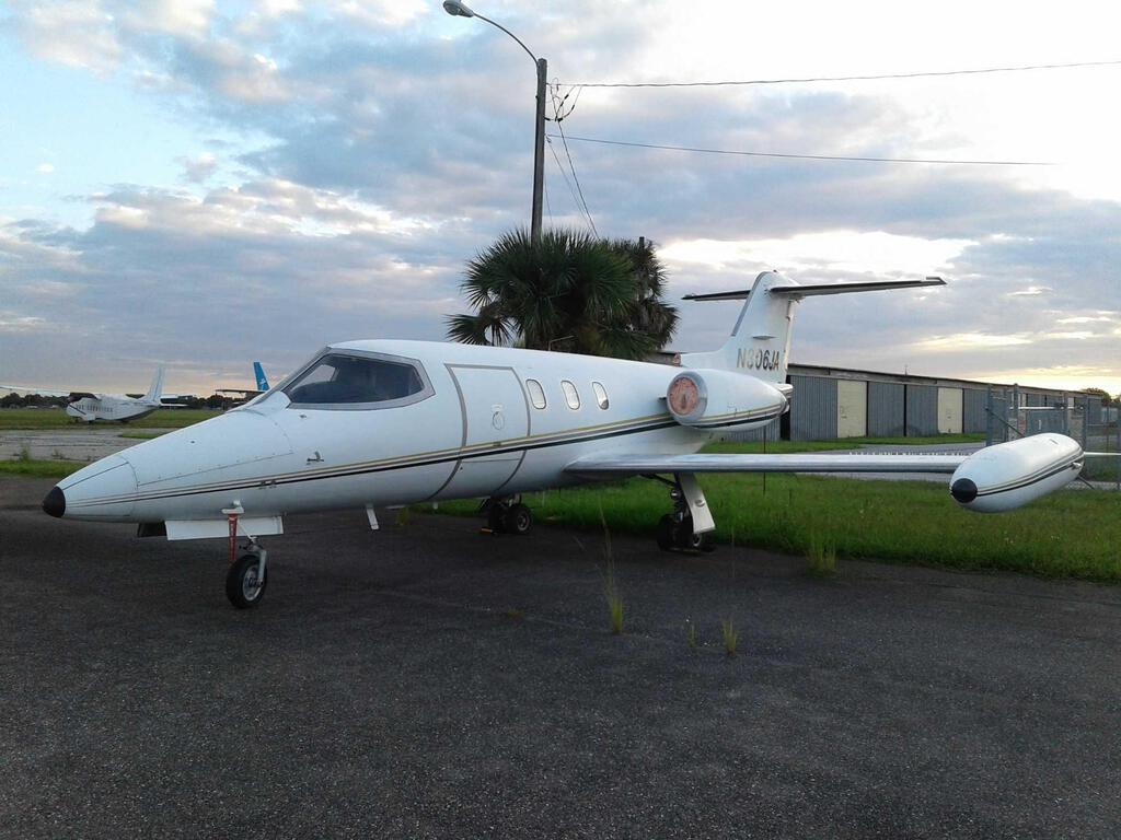 1975 LEAR JET 24D N-306JA S/N 306 NON HUSH KITTED AIRCRAFT